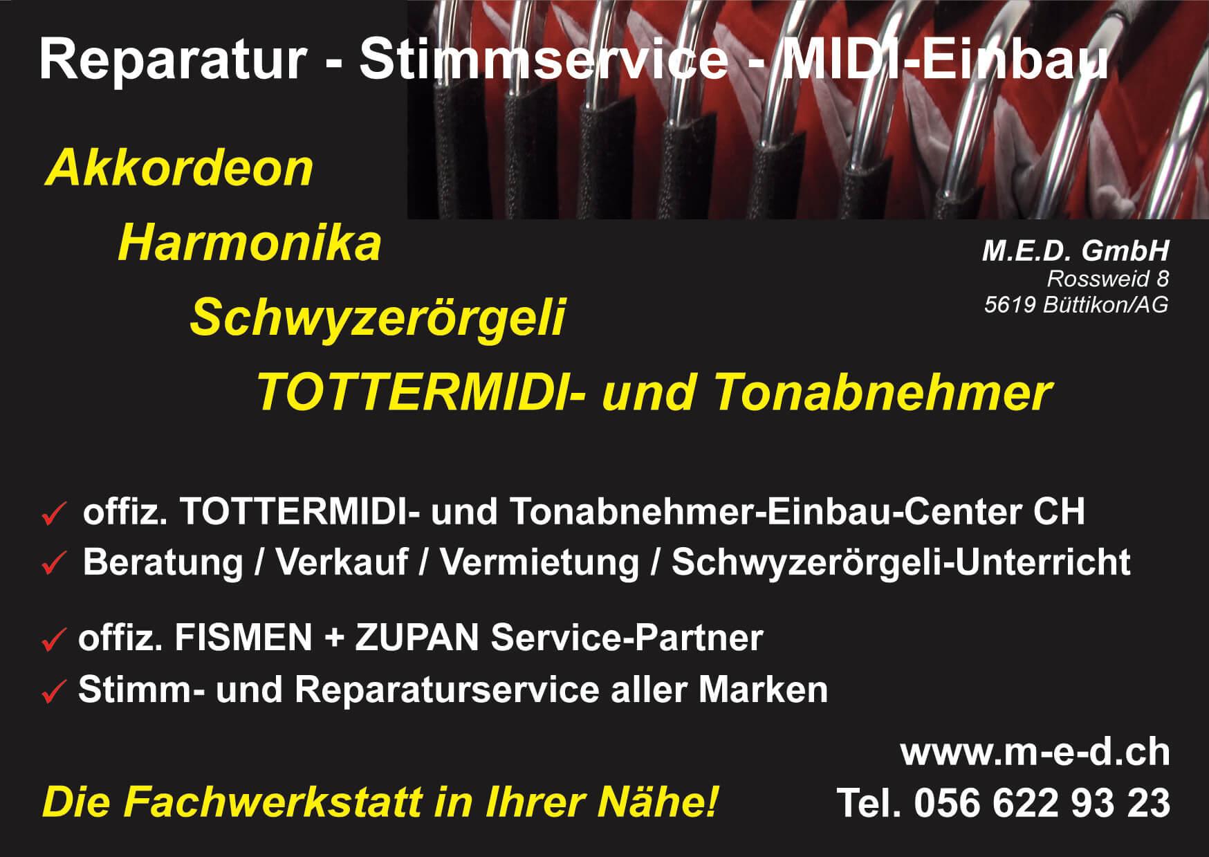 M.E.D. GmbH Angebot