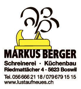 MARKUS BERGER Schreinerei – Küchenbau