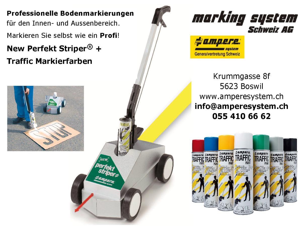 Marking System Schweiz AG Angebot