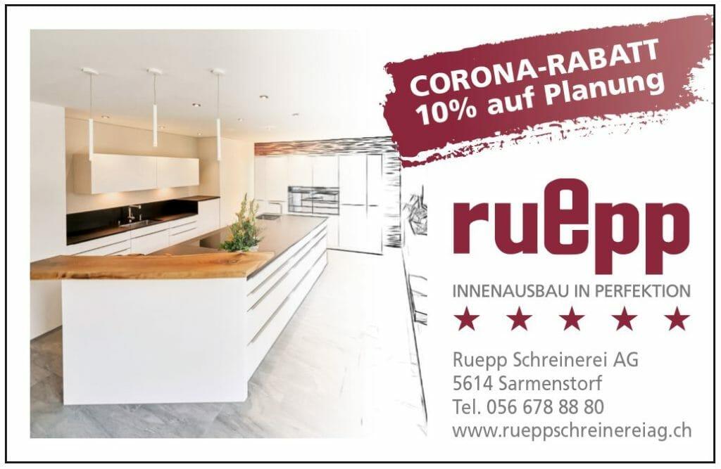 Ruepp Schreinerei AG Angebot