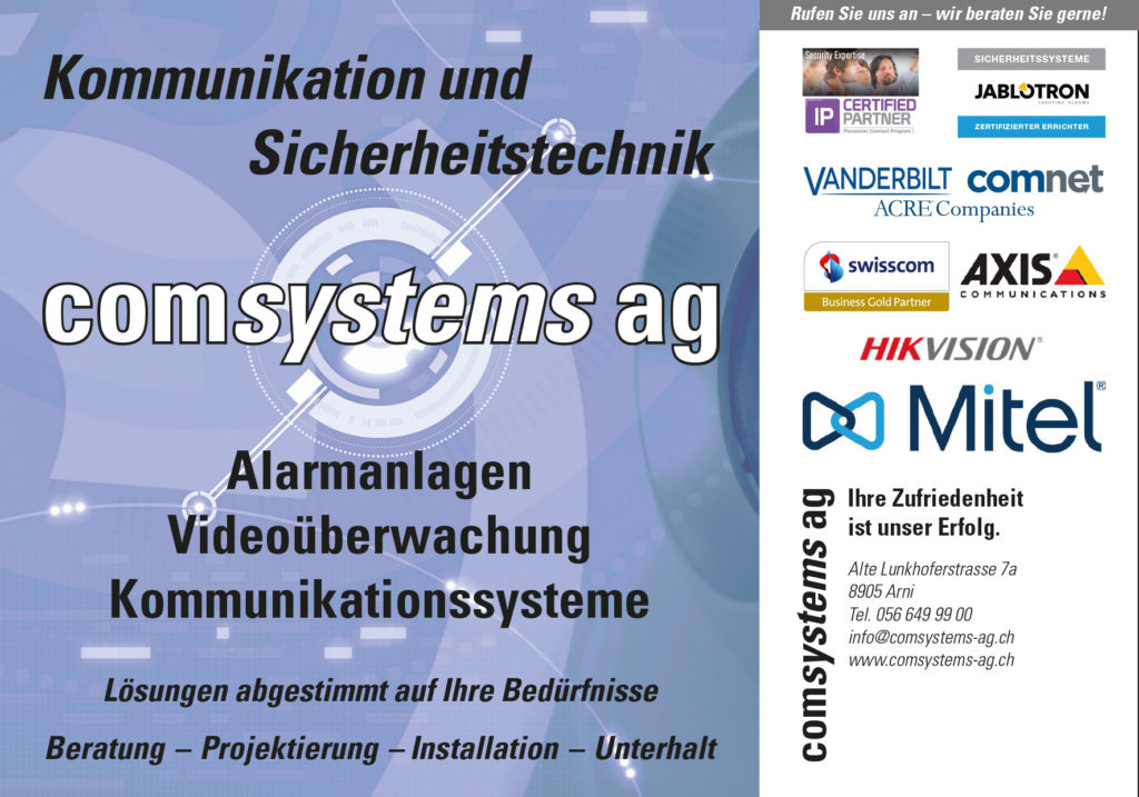 comsystems ag Angebot